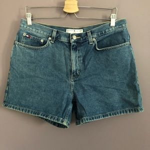Vintage Tommy Hilfiger Denim Mom Shorts Size 12
